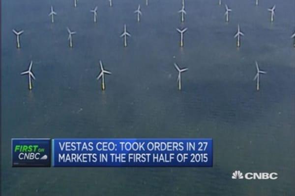 China to remain big renewables market: Vestas CEO