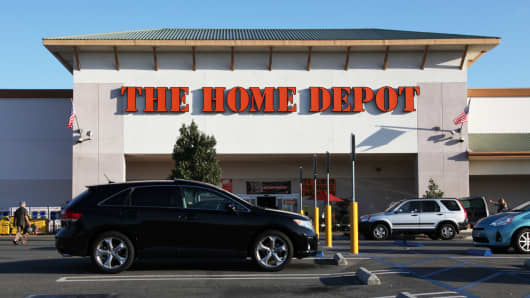 A Home Depot store in Laguna Hills, California