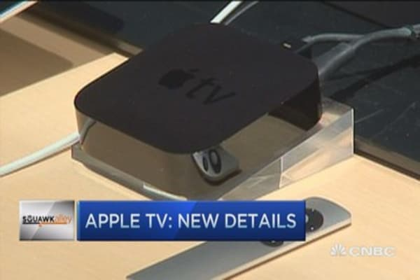 The next Apple TV
