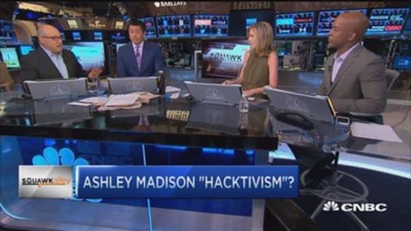 Ashley Madison 'hacktivism'