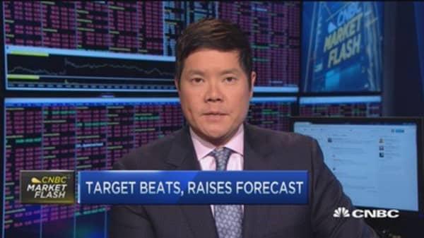 Target gains dissipate despite Street beat