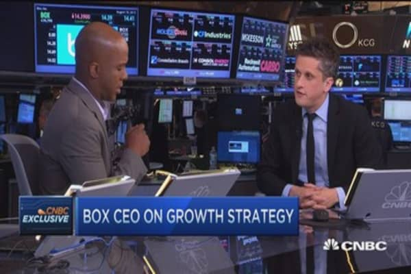 Box's enterprise strategy