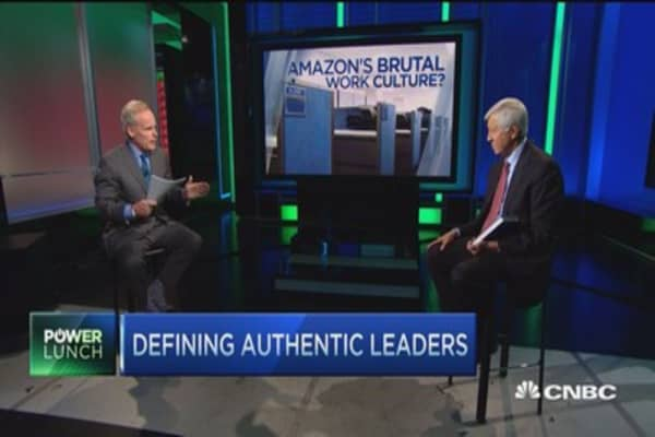 Bill George: Authenticity the gold standard for leaders