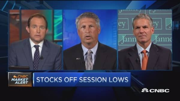 Stocks reverse following Fed; then head down again