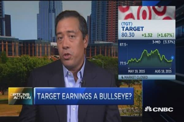 Options traders prefer Target to Wal-Mart