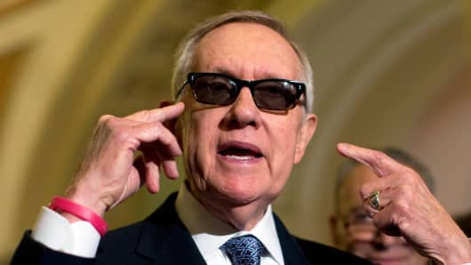 Senate Minority Leader Sen. Harry Reid of Nevada