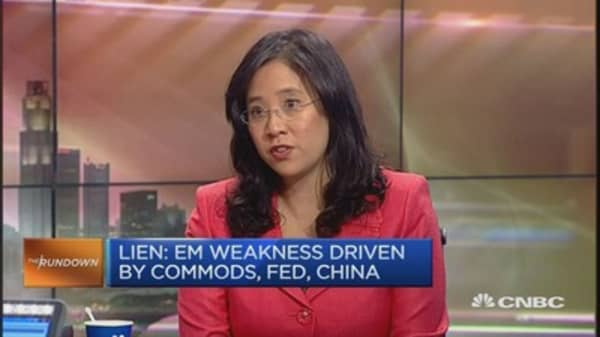 Brace for more weakness in EM currencies
