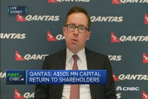 Qantas: Excited about new Dreamliners fleet
