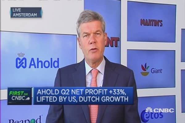 Still slow in US north-east: Ahold CEO