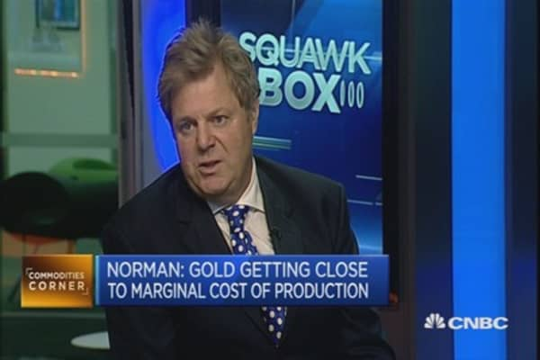 Gold seeing record shorts: Sharps Pixley CEO