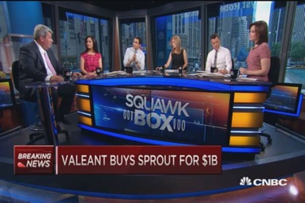 Valeant buys Sprout in $1 billion cash deal