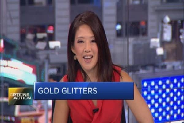 Options Action: Bullish bets on gold