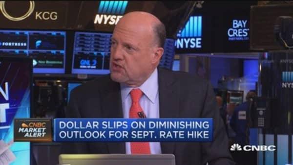 Cramer: Watch Disney's stock