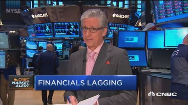 Pisani's markets: Stocks tumble, sectors down