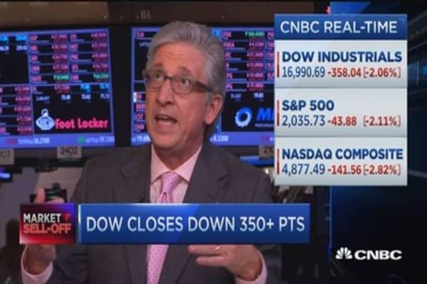 Pisani: Baffled by market's mini collapse
