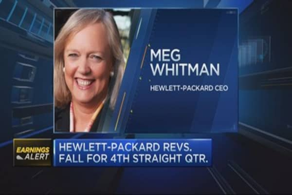 Shareholder on HP quarter: Maybe there's some upside