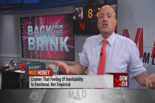 Cramer's turnaround tonic for the global economy