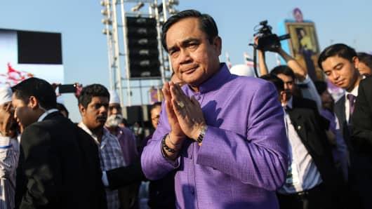 Prayuth Chan-Ocha, Thailand's prime minister.