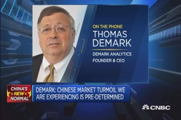 China stocks to see 40% retracement: CEO