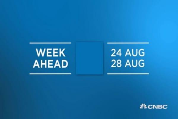 Week ahead: August 24