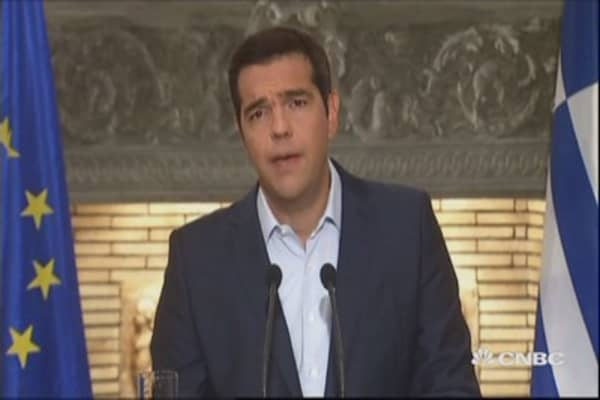 Another Greece PM out of job