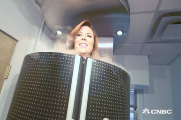 The hot business of sub-zero spa treatments