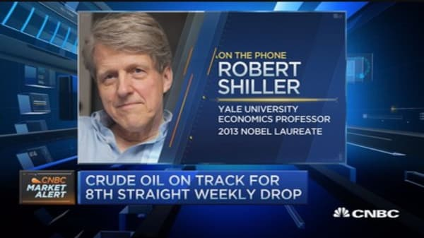 Historically valuations are high: Robert Shiller