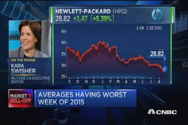 Kara Swisher: Nobody buying PCs, hardly buying laptops