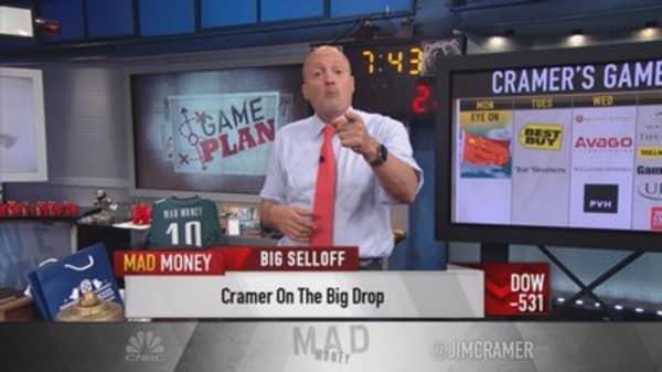 Cramer's game plan after big drop