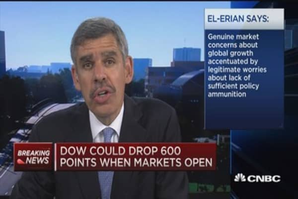 El-Erian: Selloff continues until these two things happen....