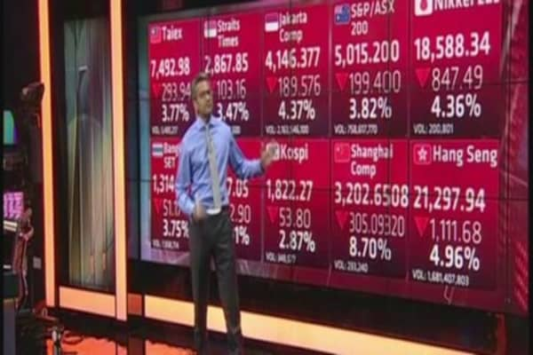 Black Monday: Global markets plunge