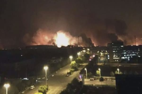Toyota plants close after Tianjin explosion