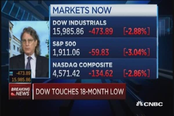 Not a bottom, just a healthy scare: McNamee