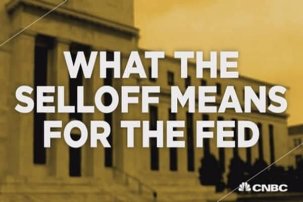 What the selloff means for the Fed