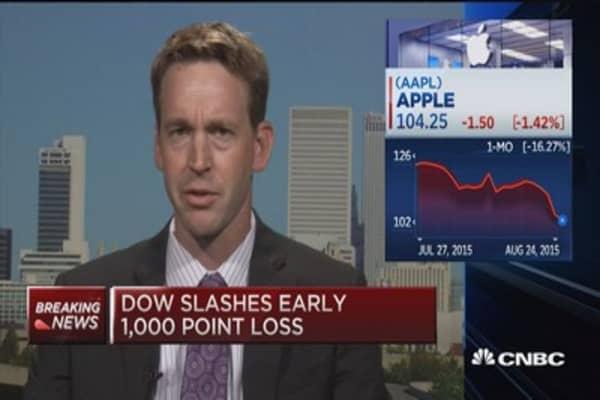 Tim Cook calms investors