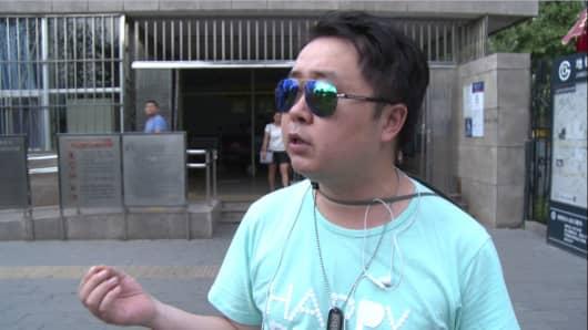 Liu talks to CNBC.