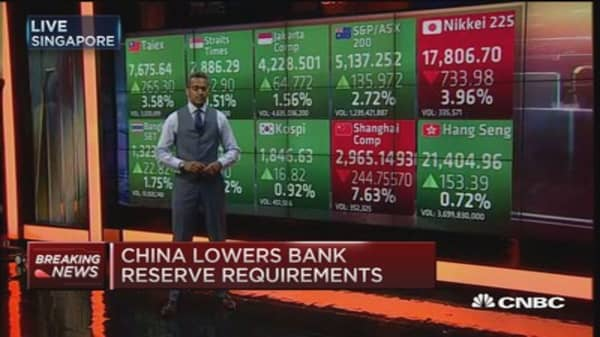 China cuts interest rates