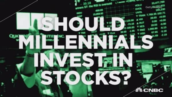 Should millenials invest in stocks?