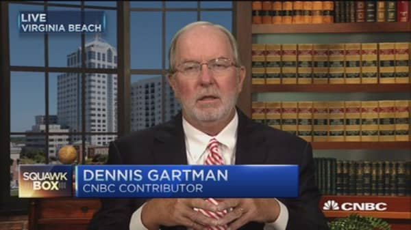 Why China's reserve decision matters: Gartman