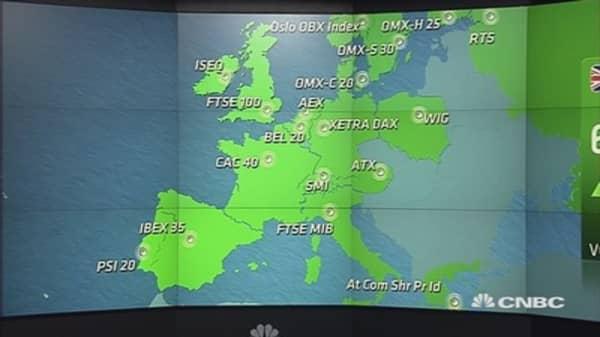 Europe markets end above 4%, after 'Black Monday' turmoil