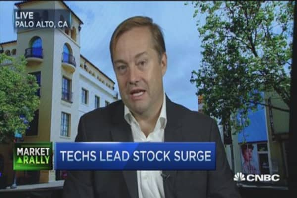 Angel investors' reaction to selloff
