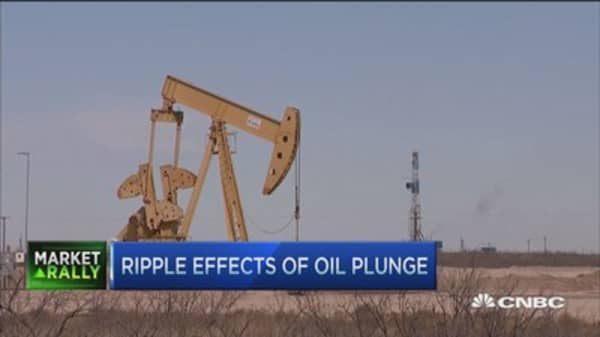 Ripple effects of oil plunge