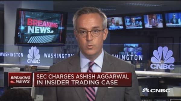 DOJ: 3 accused in insider trading case
