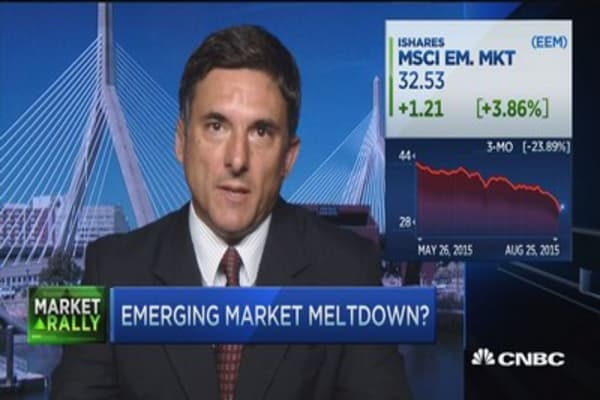 Emerging markets hit