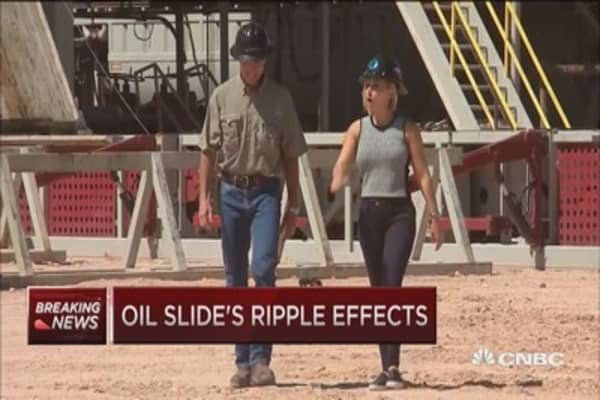 Oil slide's ripple effects