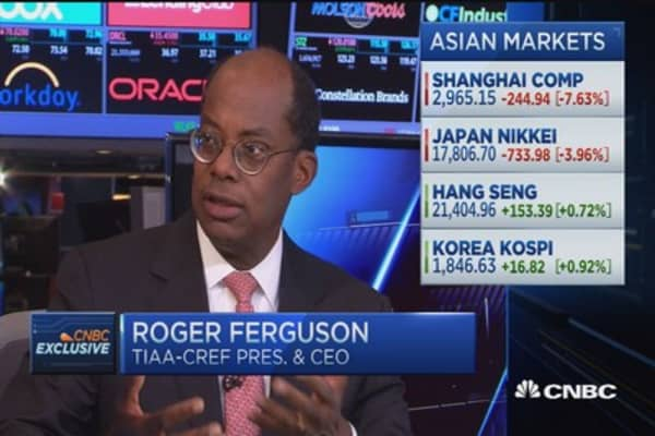 China will ultimately be successful: TIAA-CREF CEO