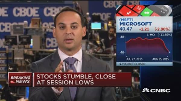 Options Action: Betting on Microsoft
