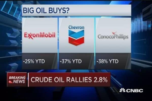 Big oil buys?