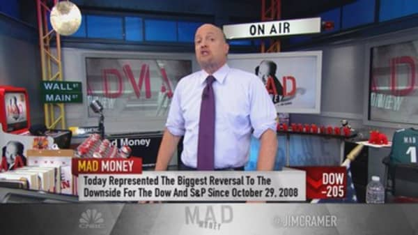 Cramer: Behind the huge surge reversal