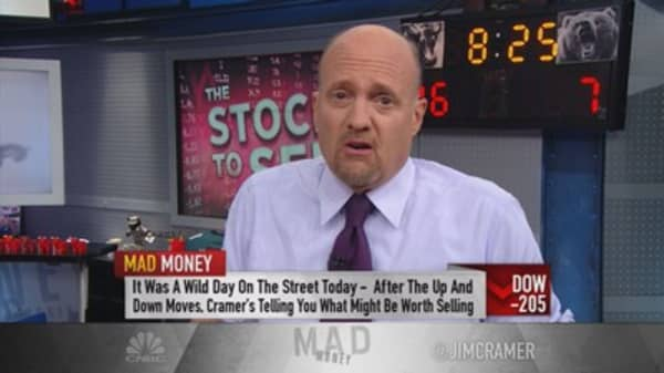Cramer: Time to dump your danger stocks!